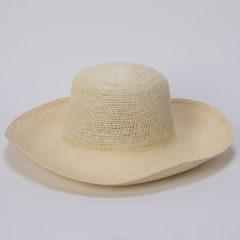 本パナマ頭鈎編み